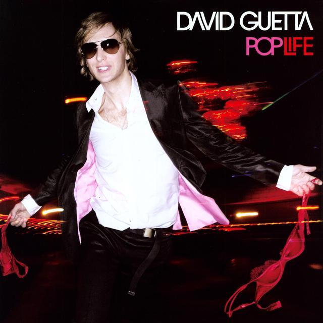 David Guetta POP LIFE Vinyl Record - Portugal Import