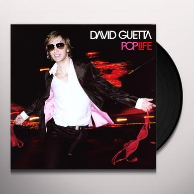 David Guetta POP LIFE Vinyl Record - Portugal Import