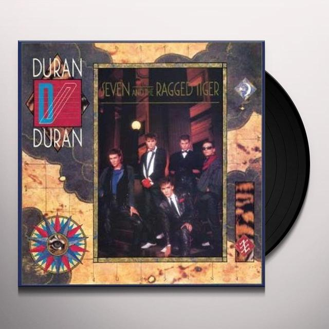 Duran Duran SEVEN & THE RAGGED TIGER Vinyl Record - Canada Import
