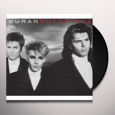 Duran Duran NOTORIOUS Vinyl Record - Canada Import