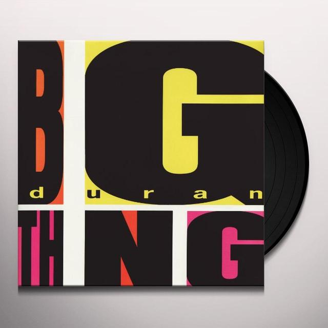 Duran Duran BIG THING Vinyl Record