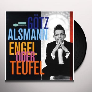 Gotz Alsmann ENGEL ODER TEUFEL Vinyl Record