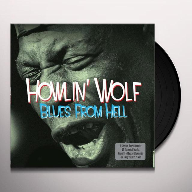 Howlin Wolf BLUES FROM HELL Vinyl Record - UK Release