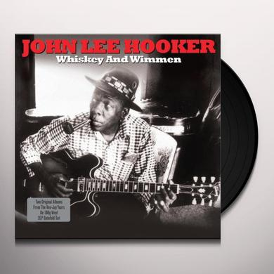 John Lee Hooker WHISKEY & WIMMEN Vinyl Record