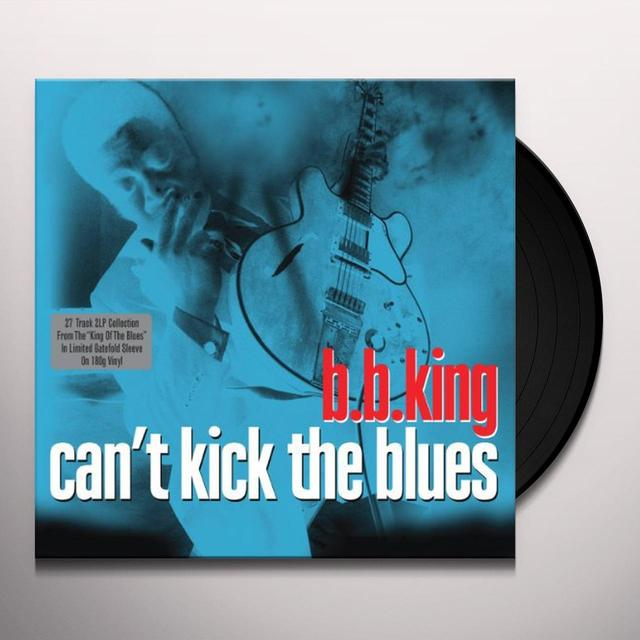 B.B. King CAN'T KICK THE BLUES Vinyl Record - UK Release