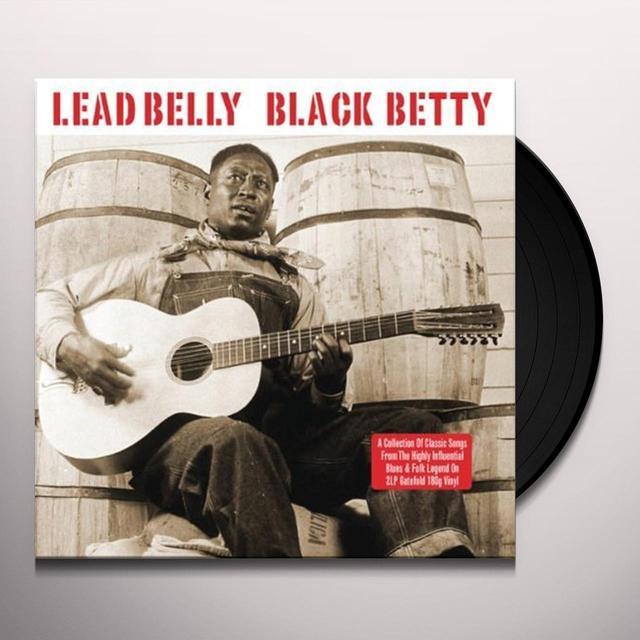 Lead Belly BLACK BETTY Vinyl Record - UK Import