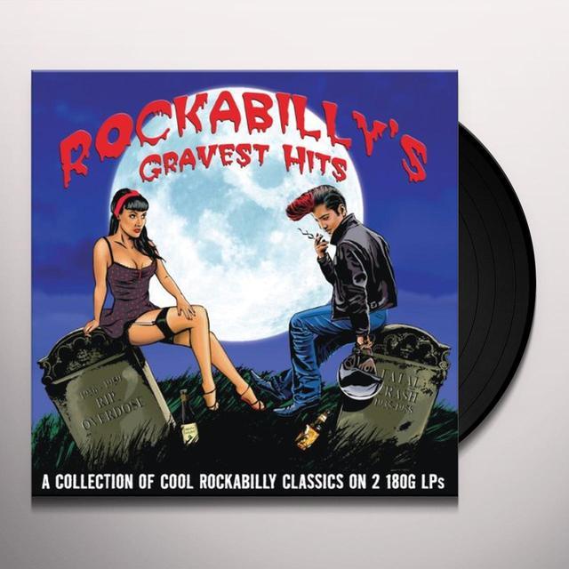 ROCKABILLY'S GRAVEST HITS / VARIOUS Vinyl Record - UK Import
