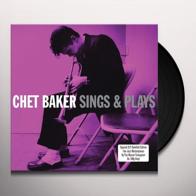 Chet Baker SINGS & PLAYS Vinyl Record - UK Import