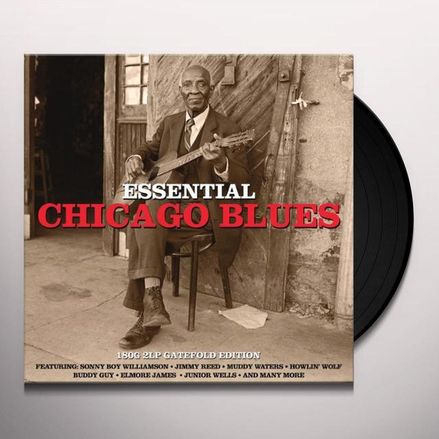 ESSENTIAL CHICAGO BLUES / VARIOUS Vinyl Record - UK Import