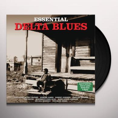 ESSENTIAL DELTA BLUES / VARIOUS Vinyl Record