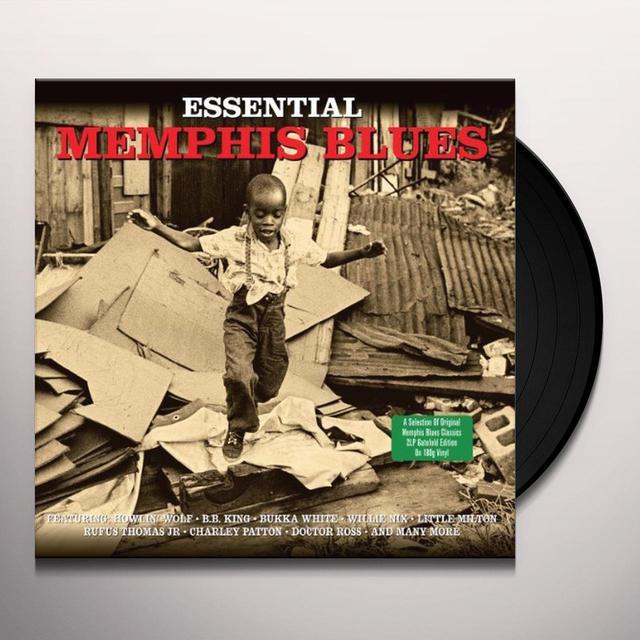 ESSENTIAL MEMPHIS BLUES / VARIOUS Vinyl Record - UK Import