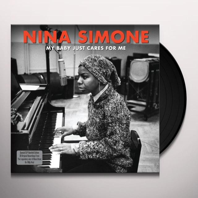 Nina Simone MY BABY JUST CARES FOR ME Vinyl Record - UK Import