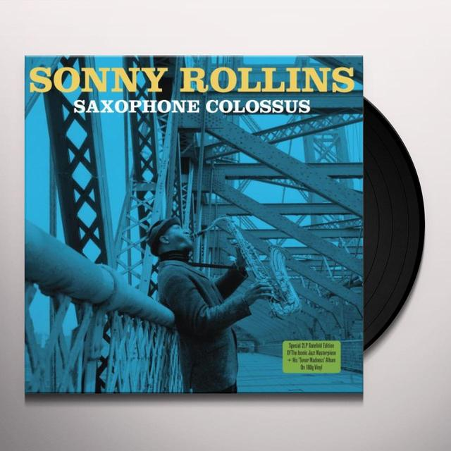Sonny Rollins SAXOPHONE COLOSSUS Vinyl Record - UK Import