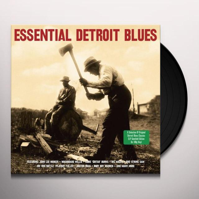 ESSENTIAL DETROIT BLUES / VARIOUS Vinyl Record