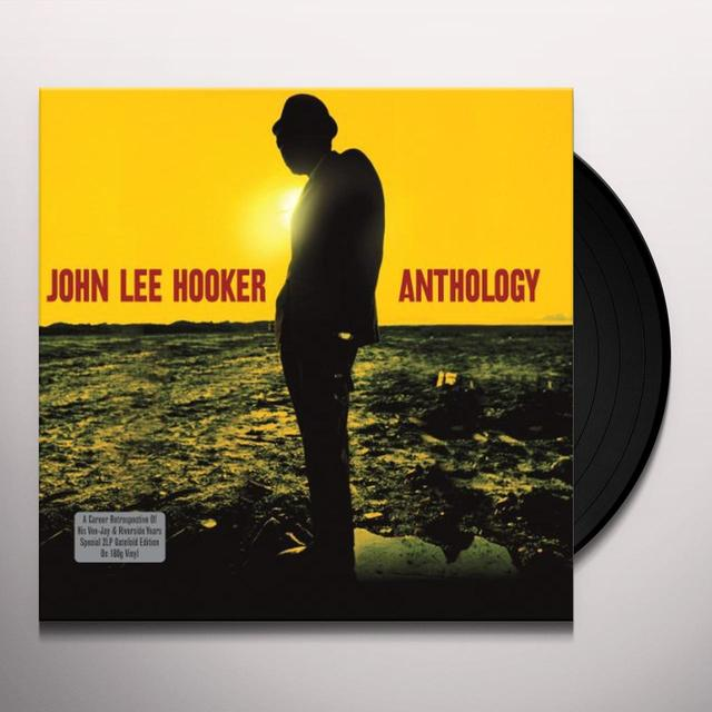 John Lee Hooker ANTHOLOGY Vinyl Record - UK Import
