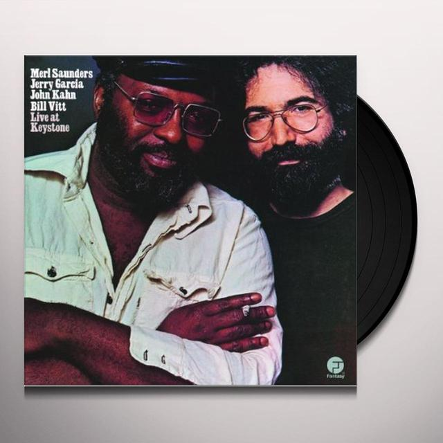 Merl Saunders & Jerry Garcia LIVE AT KEYSTONE Vinyl Record