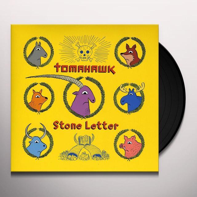 Tomahawk STONE LETTER Vinyl Record