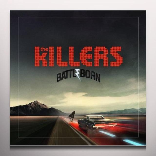 The Killers BATTLE BORN Vinyl Record - Colored Vinyl, 180 Gram Pressing