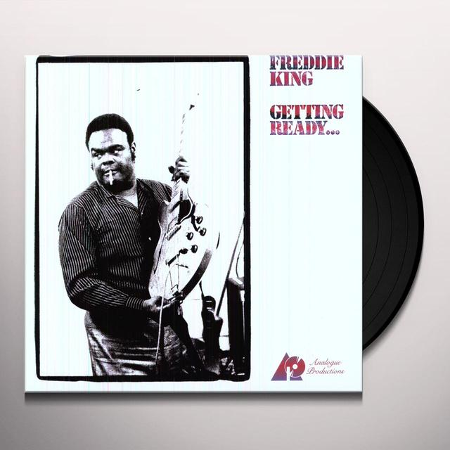 Freddie King GETTING READY Vinyl Record - 200 Gram Edition