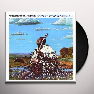 Freddie King TEXAS CANNONBALL Vinyl Record - 200 Gram Edition