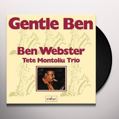 Ben Webster GENTLE BEN Vinyl Record - 200 Gram Edition