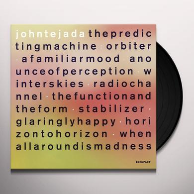 John Tejada PREDICTING MACHINE  (BOX) Vinyl Record - w/CD