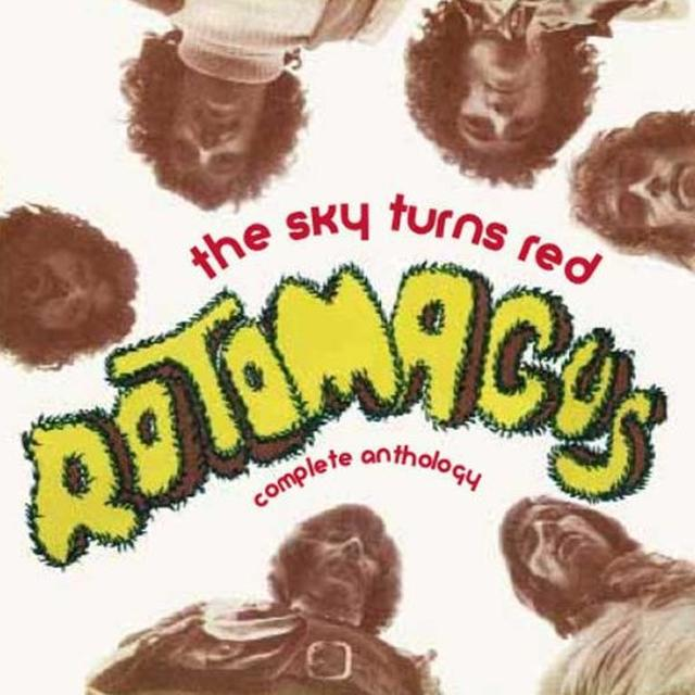 Rotomagus SKY TURNS RED: COMPLETE ANTHOLOGY Vinyl Record