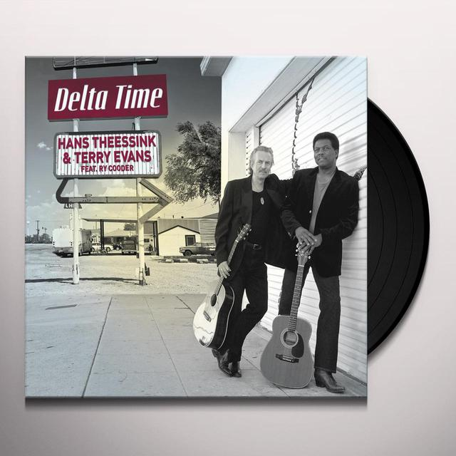 Hans Theessink & Terry Evans DELTA TIME Vinyl Record