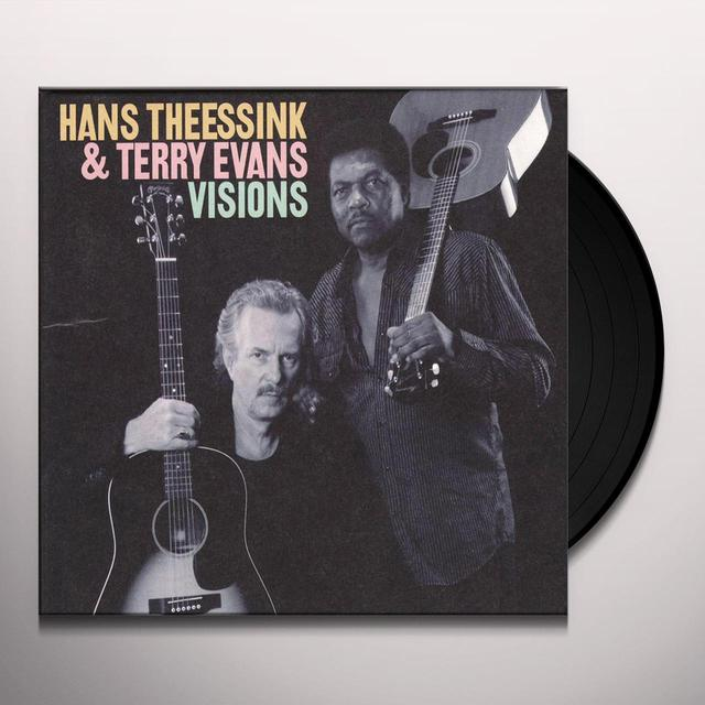 Hans Theessink & Terry Evans VISIONS Vinyl Record
