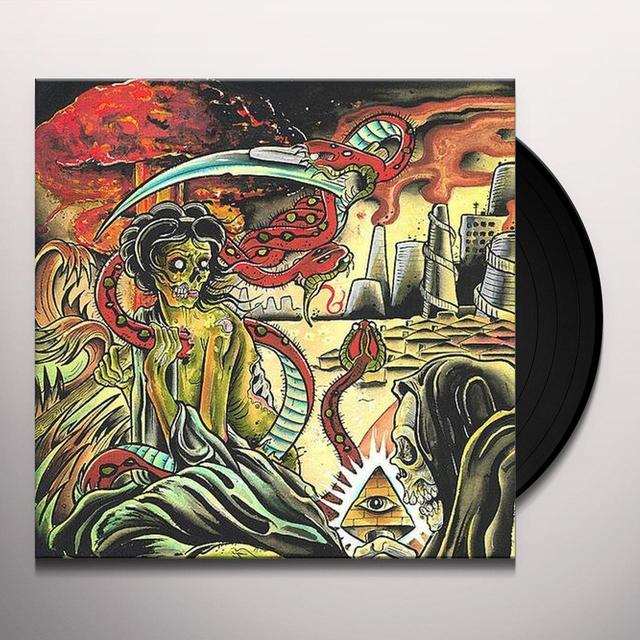 Pulling Teeth PARANOID DELUSIONS PARADISE ILLUSION Vinyl Record