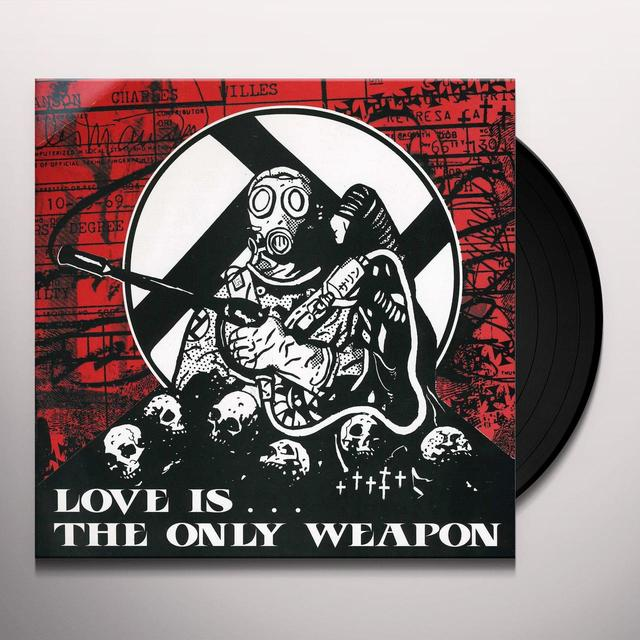 Integrity / Creepout LOVE IS THE ONLY WEAPON Vinyl Record