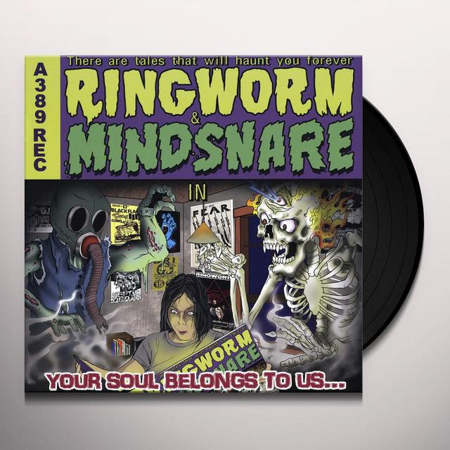 Ringworm / Mindsnake YOUR SOUL BELONGS TO US Vinyl Record