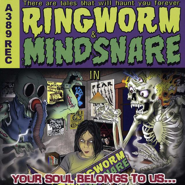 Ringworm / Mindsnake YOUR SOUL BELONGS TO US Vinyl Record