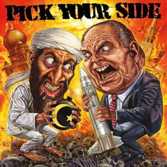 Pick Your Side LET ME SHOW YOU HOW DEMOCRACY WORKS Vinyl Record