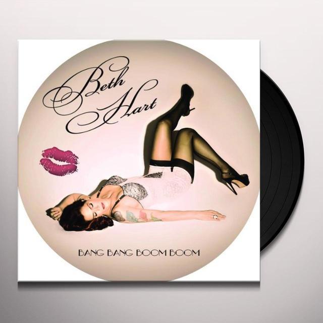Beth Hart BANG BANG BOOM BOOM Vinyl Record - 180 Gram Pressing, Picture Disc