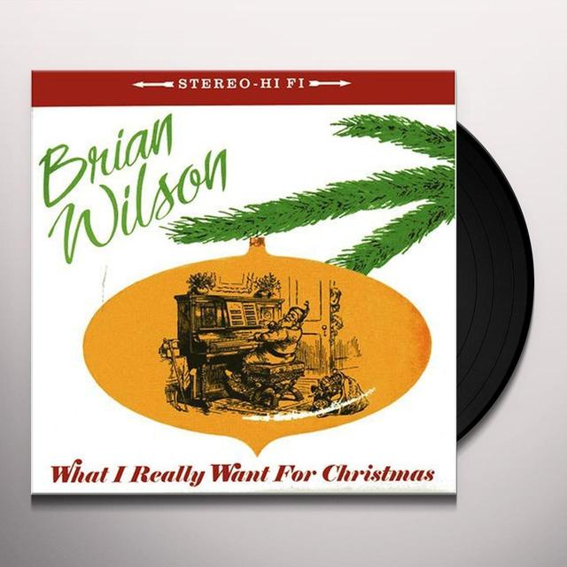 Brian Wilson WHAT I REALLY WANT FOR CHRISTMAS Vinyl Record