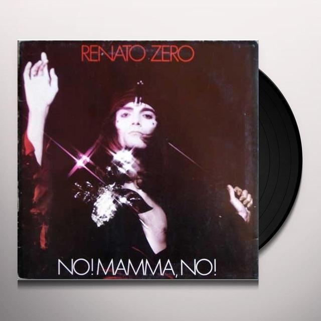 Renato Zero NO MAMMA NO Vinyl Record