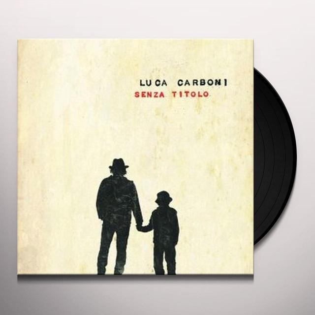 Luca Carboni SENZA TITOLO Vinyl Record