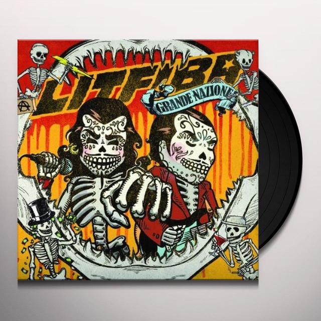 Litfiba GRANDE NAZIONE Vinyl Record