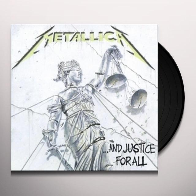 Metallica AND JUSTICE FOR ALL (GER) Vinyl Record