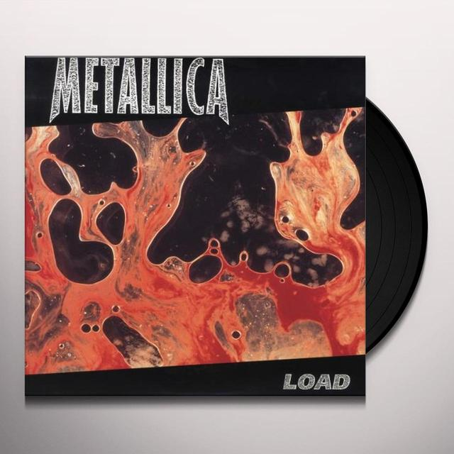 Metallica LOAD Vinyl Record - UK Import