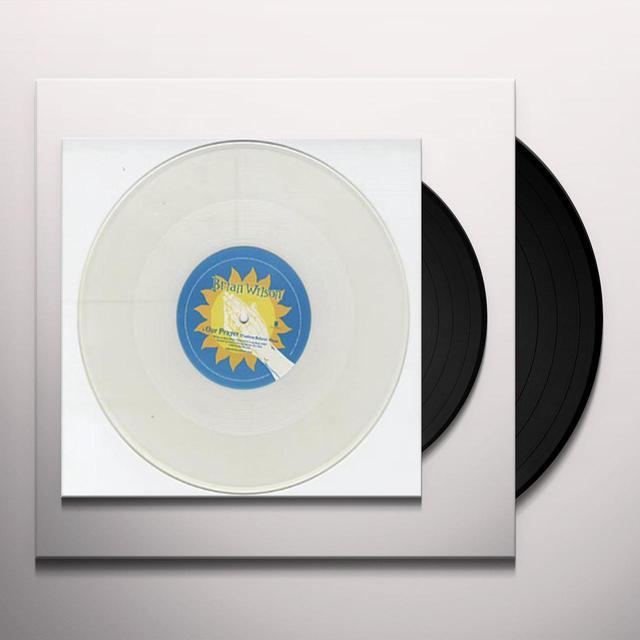 Brian Wilson OUR PRAYER Vinyl Record