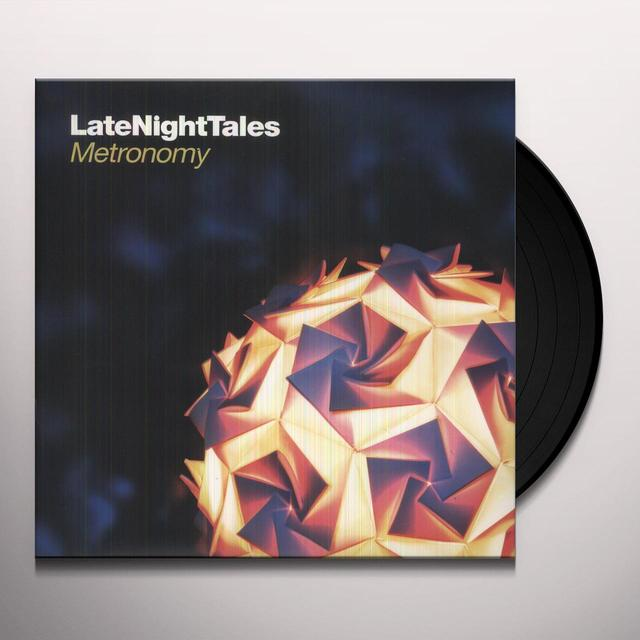 Metronomy LATE NIGHT TALES Vinyl Record - Black Vinyl, Gatefold Sleeve, 180 Gram Pressing, Digital Download Included
