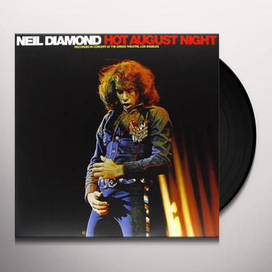Neil Diamond HOT AUGUST NIGHT Vinyl Record