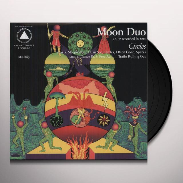 Moon Duo CIRCLES Vinyl Record