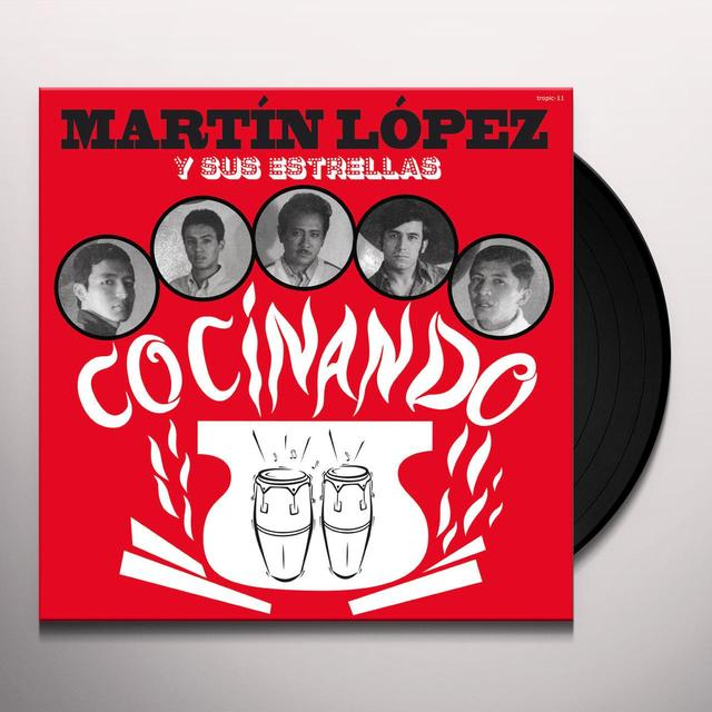 Martin Y Su Estrellas Lopez COCINANDO Vinyl Record - Limited Edition, Remastered, Digital Download Included