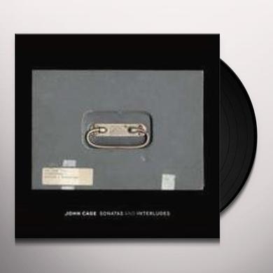 John Cage SONATAS & INTERLUDES (W/BOOK) Vinyl Record - Limited Edition