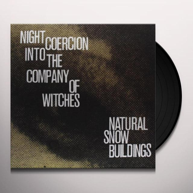 Natural Snow Buildings NIGHT COERCION INTO THE COMPANY OF WITCHES (BOX) Vinyl Record