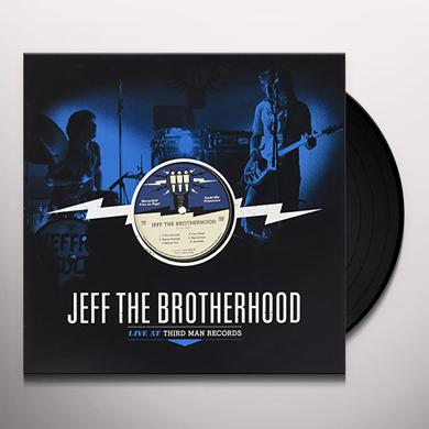 Jeff The Brotherhood THIRD MAN LIVE 10-01-2010 Vinyl Record