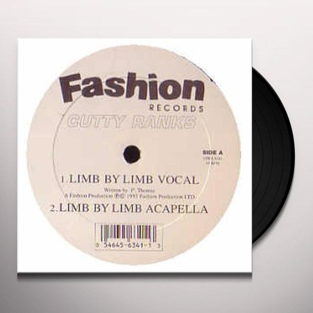 Cutty Ranks LIMB BY LIMB Vinyl Record